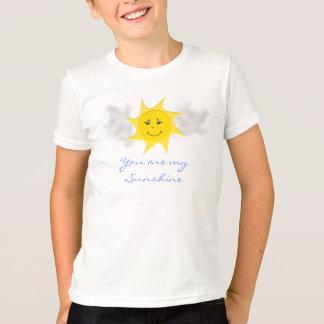 Coleção da luz do sol camiseta