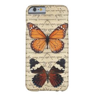 Coleção das borboletas do vintage capa barely there para iPhone 6