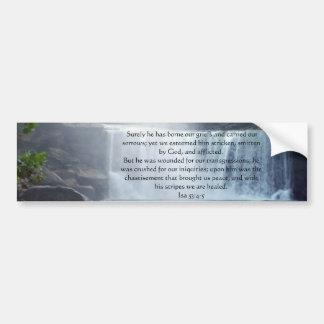 Coleção de Isaiah 53 Adesivo Para Carro
