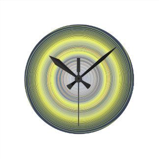Coleção do redemoinho da eternidade relógio redondo