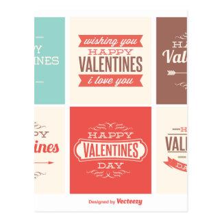Coleção dos namorados cartão postal