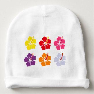 Coleção floral gorro para bebê