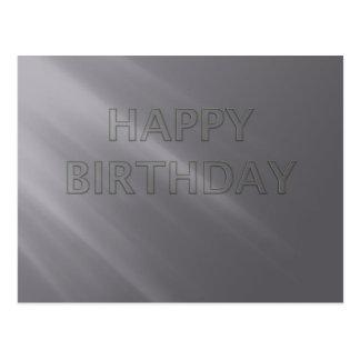 Coleção surpreendente do feliz aniversario cartão postal