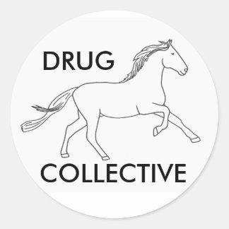 Colectividade 2 de Drughorse Adesivo