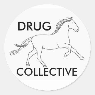 Colectividade 3 de Drughorse Adesivo