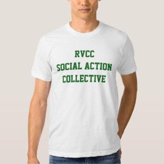 Colectividade da ação social do RVCC dos homens Tshirts