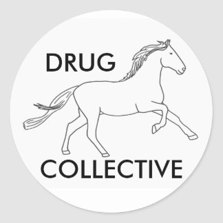 Colectividade de Drughorse Adesivo