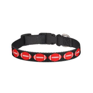 Coleira Futebóis vermelhos cão, animal de estimação, colar