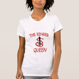 Colher ocasional da rainha das campainhas das t-shirt