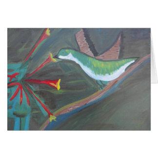 Colibri Cartão Comemorativo