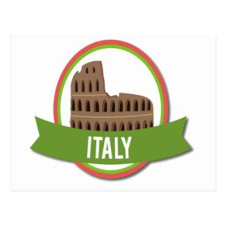 Coliseu Roma de Italia Cartão Postal