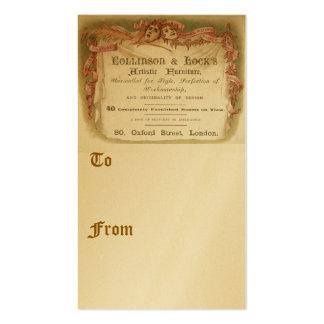 Collinson & fechamento cartão de visita