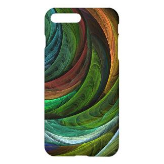 Colora a arte abstracta da glória Matte Capa iPhone 7 Plus