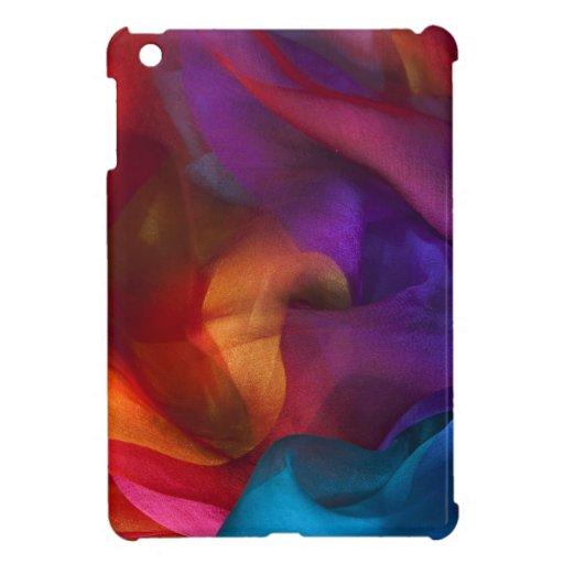 colora o redemoinho azul, roxo, amarelo, verde, co capas para iPad mini