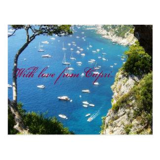 Com amor de Capri Cartao Postal