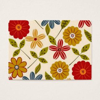 COM flores do imagem Cartão De Visitas