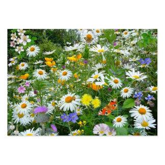 COM flores do imagem faz o campo Cartão De Visita Grande