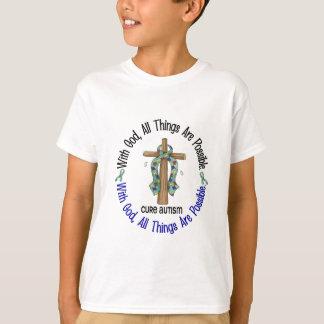 COM os t-shirt & os presentes do AUTISMO da CRUZ