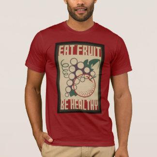 Coma a camisa da fruta