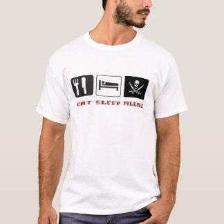 Coma a pilhagem do sono tshirts