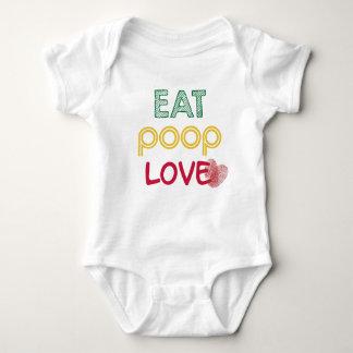 Coma o amor do tombadilho, vida de um bebê body para bebê