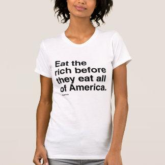 Coma o humor rico de Politiclothes - .png T-shirts