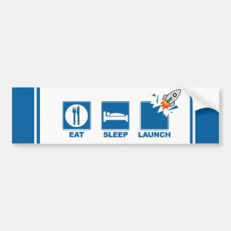 Coma o lançamento V2 do sono Adesivo Para Carro