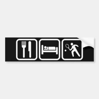 Coma o tênis do sono adesivo para carro