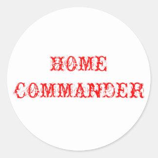 Comandante Home Adesivo