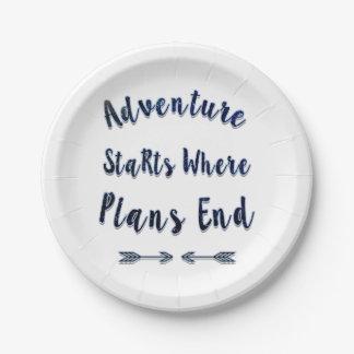 Começos onde os planos terminam, citações azuis da