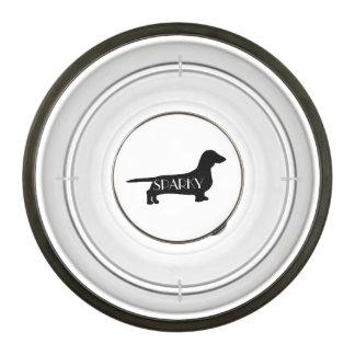 Comedouro Para Cachorro Bacia feita sob encomenda do cão da raça do