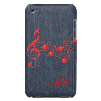 Comemore a música Monogrammed Capa iPod Barely There