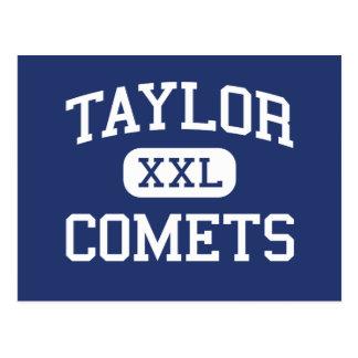 Cometas Taylor católico Michigan de Taylor Cartão Postal