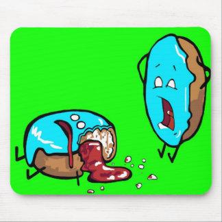 comida inoperante engraçada mouse pad