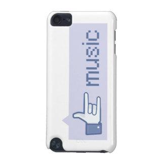 Como a capa de ipod da música