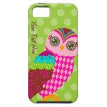 Como agora coruja cor-de-rosa? capa iPhone 5