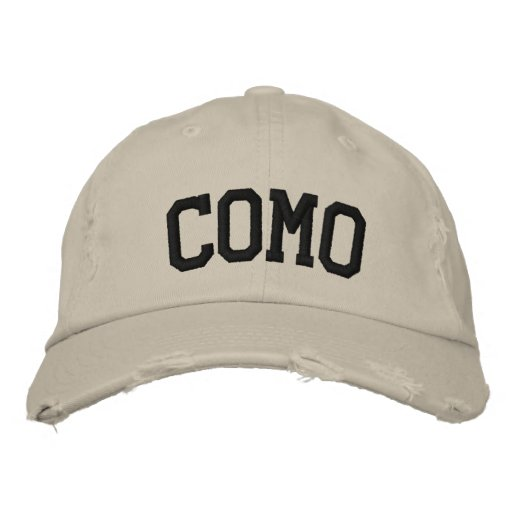 Como bordou o chapéu bones bordados