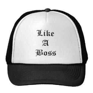 Como um chefe boné
