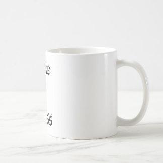 Como um chefe caneca de café