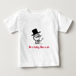 Como um senhor! camisetas