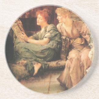 Comparações por Lawrence Alma-Tadema Porta Copos De Arenito