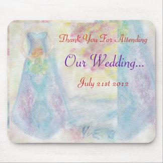 Compartilhe deste casamento especial do dia mim mouse pads