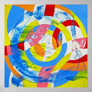 Composição #2 por Michael Moffa Pôster