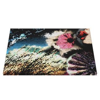 Composição do mosaico como canvas