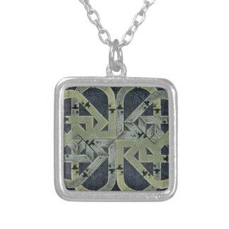 Composição do símbolo abstrato bijuterias personalizadas