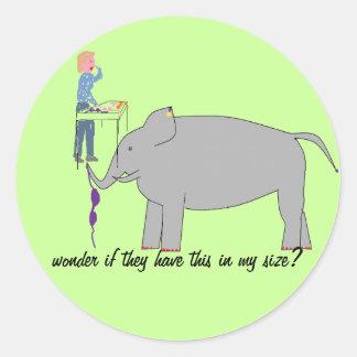 Compra do elefante adesivo