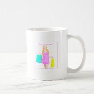 Comprar até que você deixe cair caneca de café