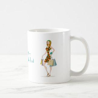 Comprar, é o que eu faço melhor caneca de café
