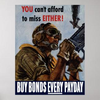 Compre ligações cada dia de pagamento -- Poster WW