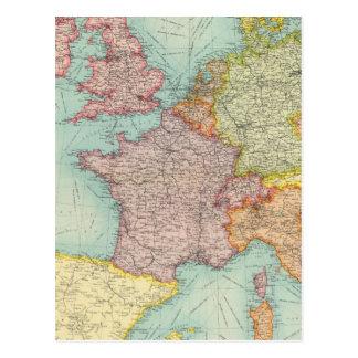 Comunicações de Europa ocidental Cartão Postal